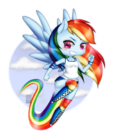 Rainbow Dash by deizunei
