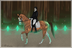 SAH's Forest Competition - Prelida and Dylan by xDanielleeee