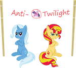 Anti-Twilight Club by BatmanBrony