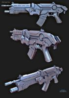 FPS_Rifle_HighPoly by boyluya