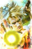 Leon Chiro as Future Trunks SSJ by LeonChiroCosplayArt