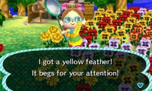 Yellow Festivale Feather by I-Am-The-New-L