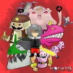 Mother 3 - Some bad guys by KalaxCY