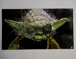 Yoda wip 6 by shaunsheep