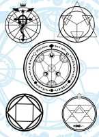 Transmutation Circles by SerialCode