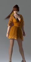 DOA5LR Kasumi Casual Dress (Customize) by bstylez