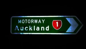 Motorway Auckland by agreenbattery