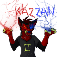Sollux/Kazzan Badge by The-Shy-Violinist