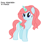 Pony Adoptable no.2 (10 points!) OPEN by DerpyLuv123