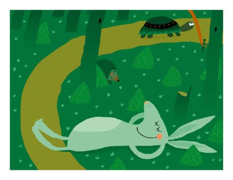 The Tortoise and the Hare 2 by vleta
