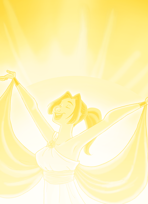Kitty- Goddess of the Sun