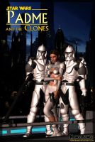 Padme and Clones by MongoBongoArt