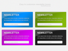 Newsletter Boxes by KRONTM