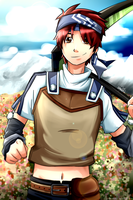 Rune Factory 2: A Fantasy Harvest Moon | Kyle by GReih