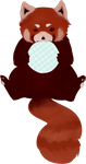 Commission: Red Panda by GenociderSyo