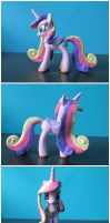 FOR SALE: Custom Princess Cadence G4 pony by EmR0304
