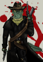 Simon the Bounty Hunter by Luke-the-F0x