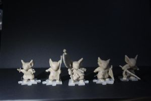 Mouse Guard figurines Pt.1 by MPaolillo