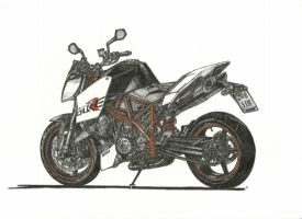 KTM 990 Super DukeR 1600 by przemus