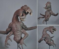 New creature WIP Monster Clay by AntWatkins
