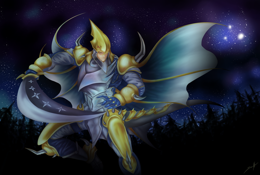 Divine Dragon Knight Felgrand by waterarceus