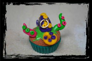 Limited Edition Tentacle Cupcake by PumpkinDream