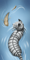 RiverClan Bookmark: Grace by ashkey