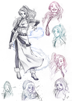 Waterbender OC: Nilak by PencilPaperPassion