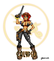 Skullgirls: Calypso by Pharaoh009