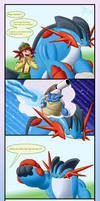 Mega swampert can do WHAT