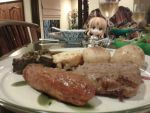 Saber Lily's Christmas Dinner by TheSaberFan64
