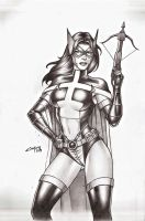 HUNTRESS !!! by carlosbragaART80