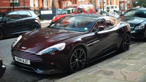 Aston Martin Vanquish by ShadowPhotography