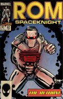 ROM Spaceknight retro style by ArtNomad