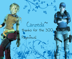 Thanks for 300 Pagviews :D by Canzeda