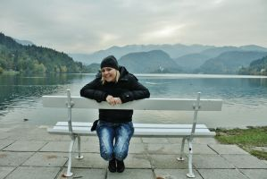 Bled by windily
