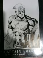 Captain America by ReillyBrown
