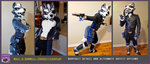 Wolf O'Donnell Fursuit/Cosplay - Alternate Outfit by W0LFB0NE