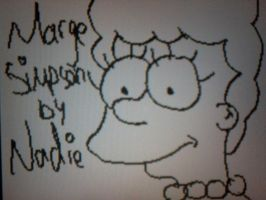 Marge Simpson by Kandyfloss30a