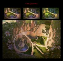 Enchanted design/concept art/art direction by chvacher