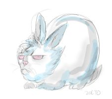 a bunny that's not Walter by inner-etch