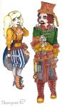 Steampunk Couple by Laura-Bosley