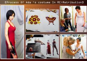 Process Of Ada's costume by toxicwarning