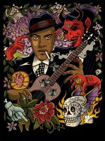 Robert Johnson by Marie-oz