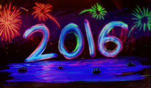 Happy New Year 2016! by hummeri9