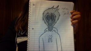 Eyeless Jack Drawing by BlizzardHaleAlpha
