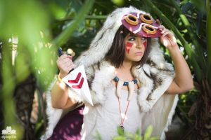 2015 Orlando Anime Day: Princess Mononoke by liyazakicosplay