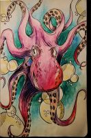 octopus by catherinetseng