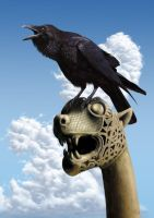 WHEN I WAS A VIKING, MY FRIEND HE WAS THE RAVEN by Rick-Lilley