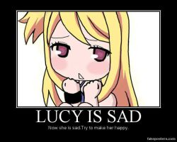 Lucy Is Sad by lillia-hime